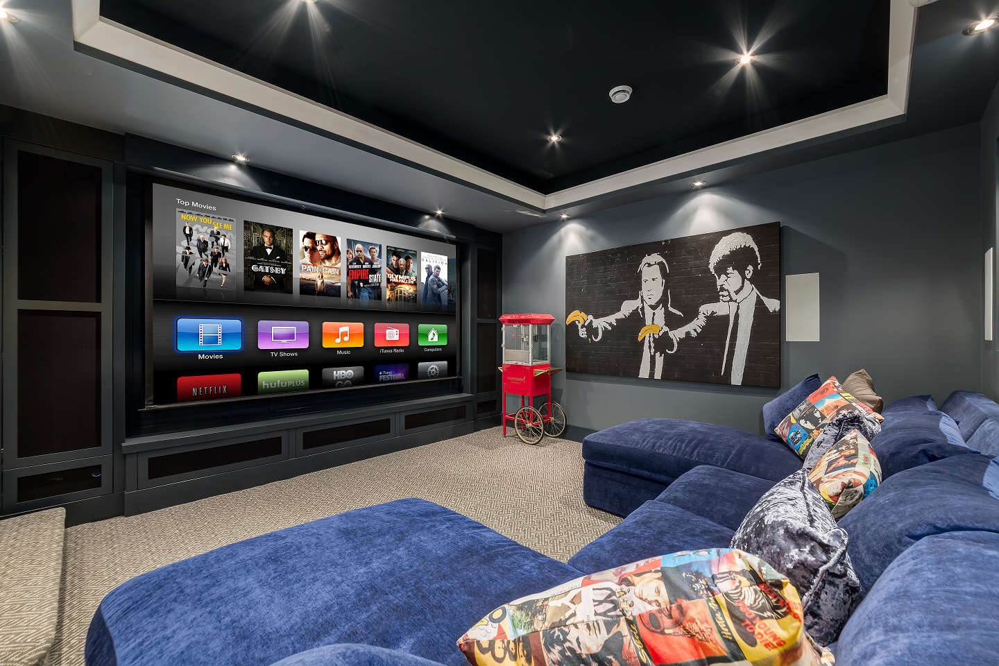 Beautiful personal home theatre